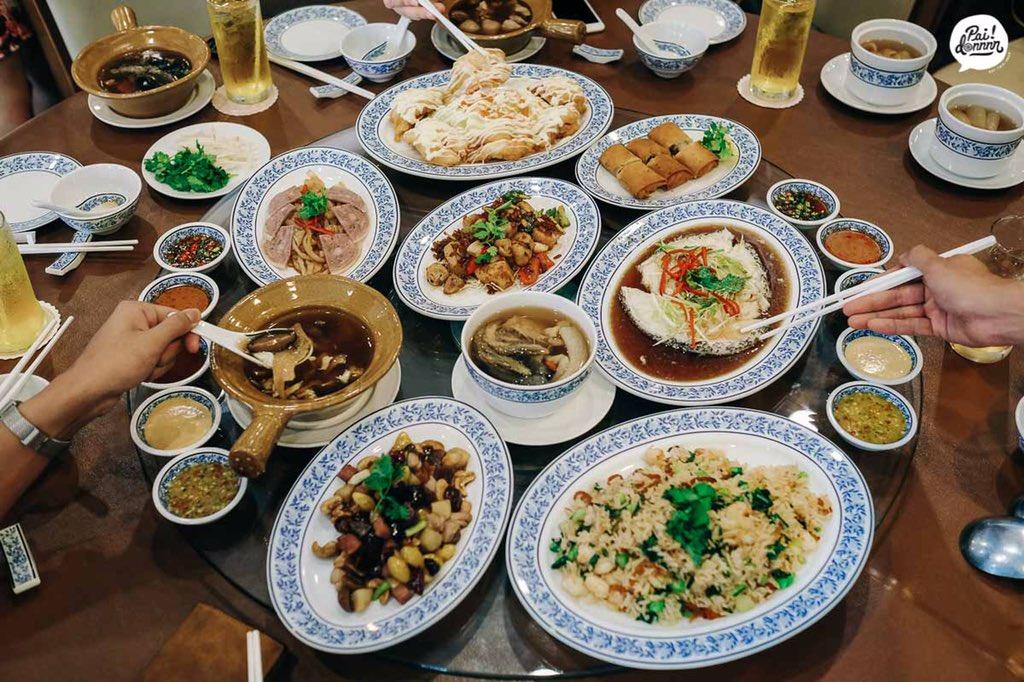 ร้านอาหารจีนดั้งเดิมที่ไม่ควรพลาด