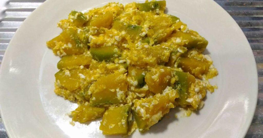 เมนูไข่และผัก 2