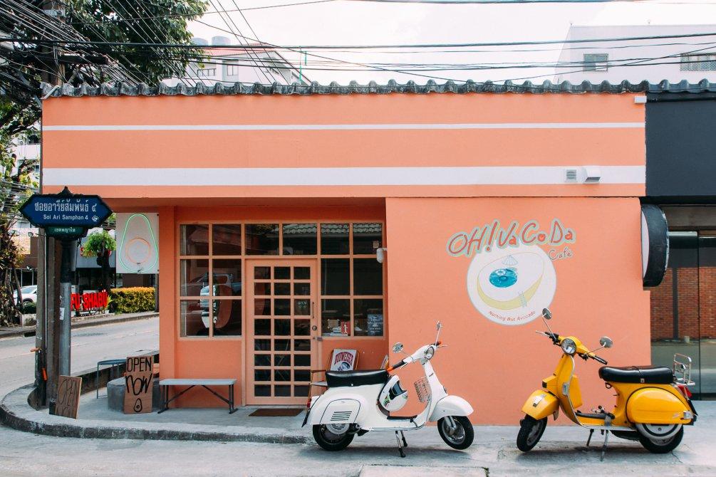 Café ใกล้ BTS อารีย์ - Oh Vacoda Café