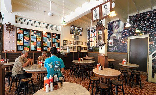 ร้านกาแฟโบราณในย่านเก่า ร้านที่ สองโกปี๋เอี๋ยไถ่กี่  เสาชิงช้า