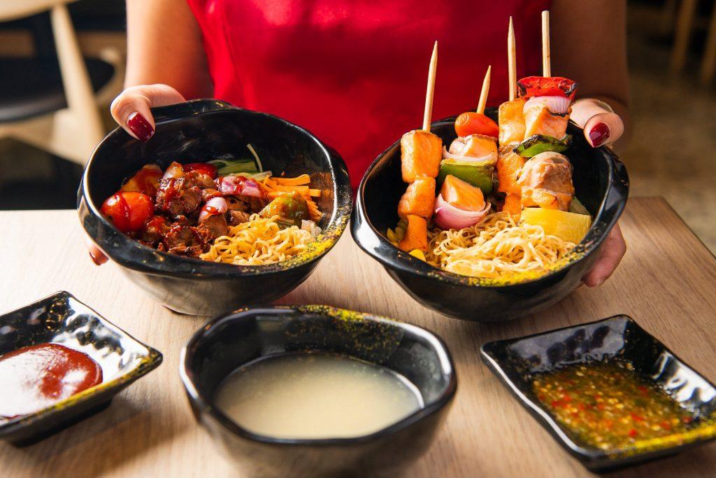 ร้าน The Asian Bowl เมนูอาหารรสชาติเด็ด