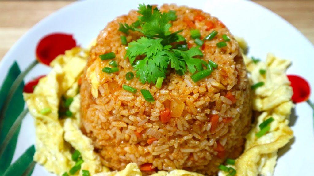 3 เมนูอาหารจากโคชูจัง - ข้าวผัดโคชูจัง