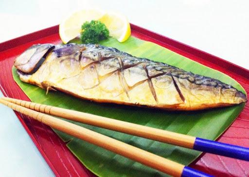 เมนูอาหารจากปลาซาบะ-ปลาซาบะย่างเกลือ