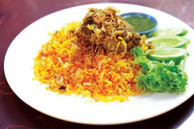 อาหารอินเดีย -Chicken Biryani – ข้าวหมกไก่ 2