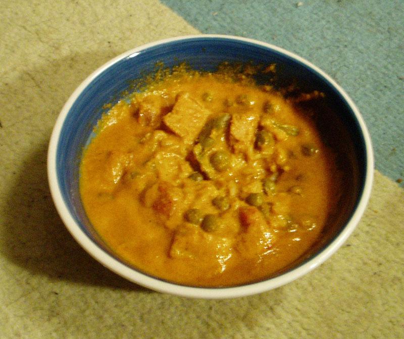 อาหารอินเดีย - แกงกุรุหม่า(Chicken Korma )