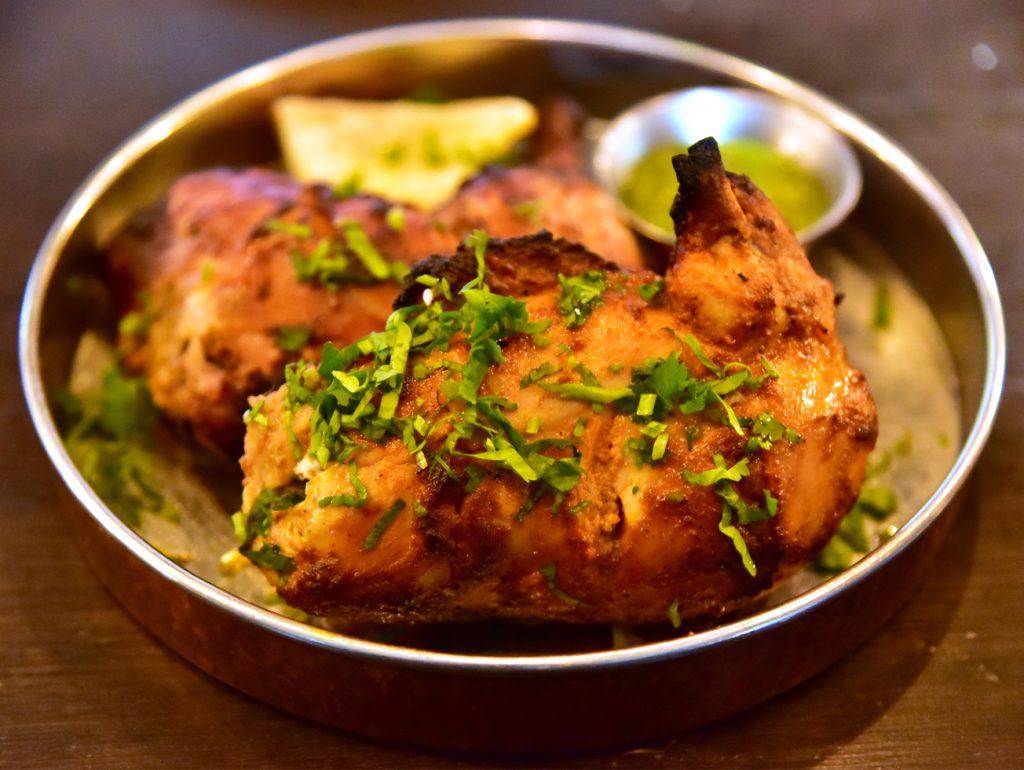 อาหารอินเดีย - ไก่ย่างทันดูรี (Tandoori chicken)