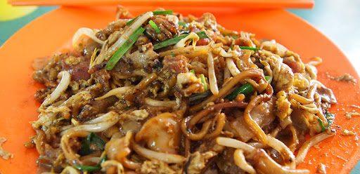 อาหารชาวสิงคโปร์ - หมี่ผัดชาก๋วยเตี๋ยว (Char Kway Teow)